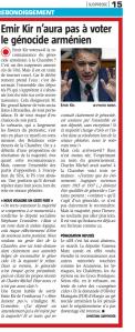 article presse Sud Presse II