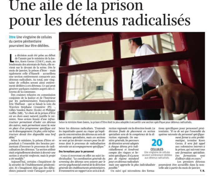 presse - QO prison Ittre