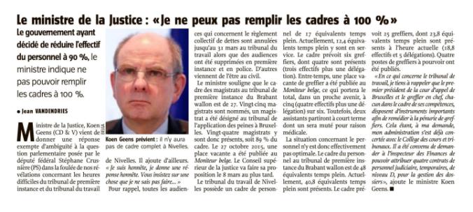 Justice Nivelles