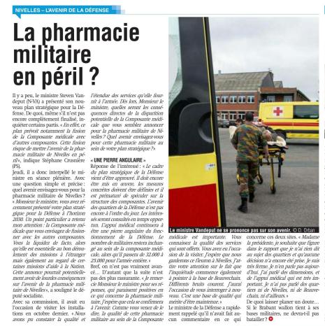 pharmacie militaire