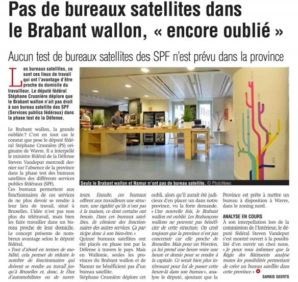 presse - bureaux satellite SPF