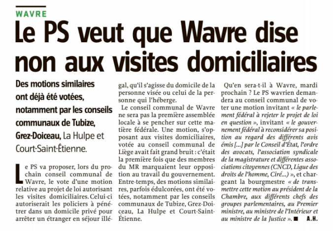 ARTICLE visites domiciliaires. 2 jpg