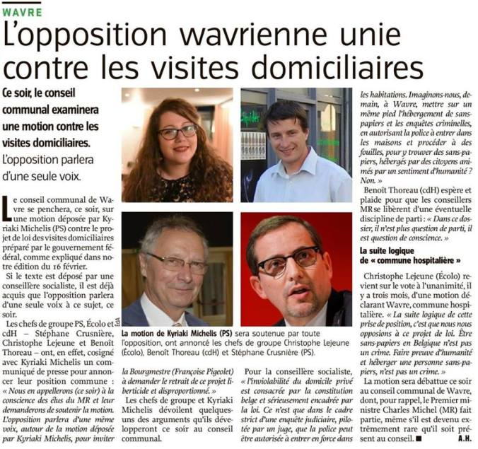 ARTICLE visites domiciliaires