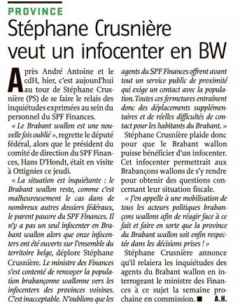 création info center BW
