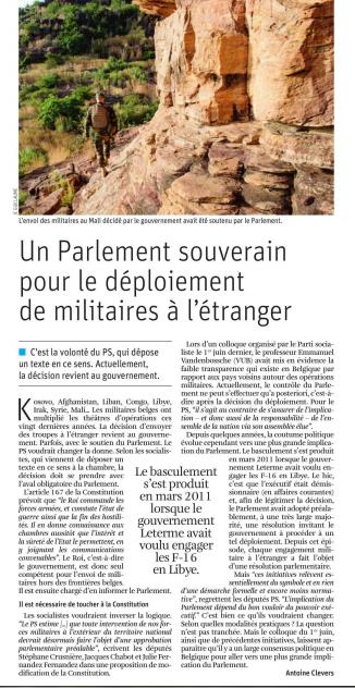 article presse - Défense