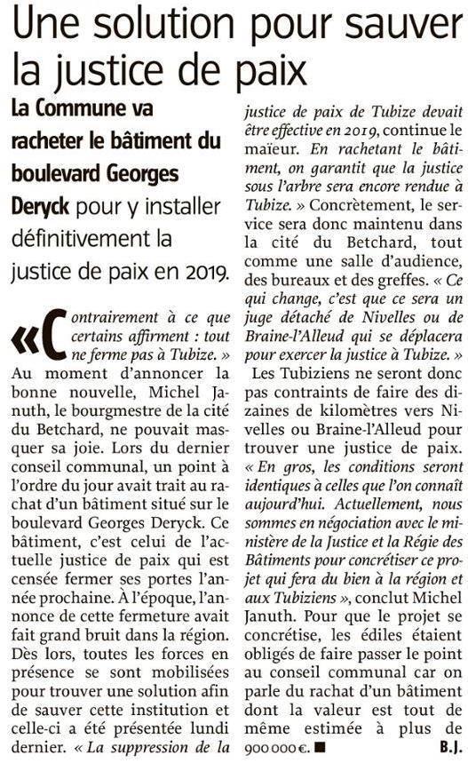 Justice de paix Tubize